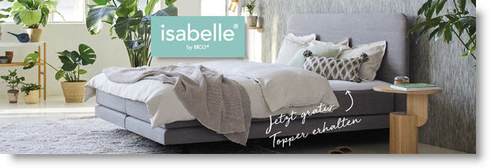 Bico Isabelle Boxspring Aktion