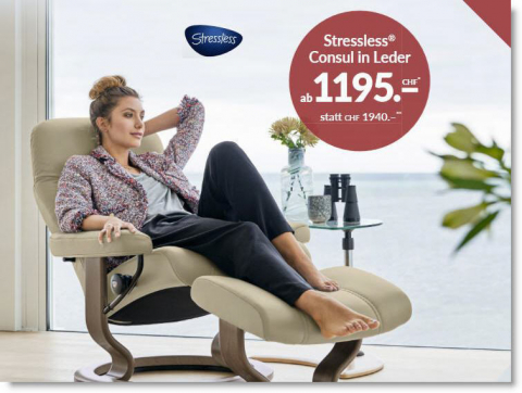 Stressless Consul Aktion